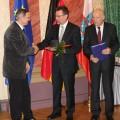 Vorsitzender mit Thüringer Sportplakette 2012 geehrt