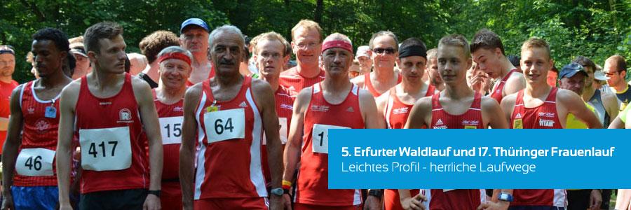 5. Erfurter Waldlauf und 17. Thüringer Frauenlauf