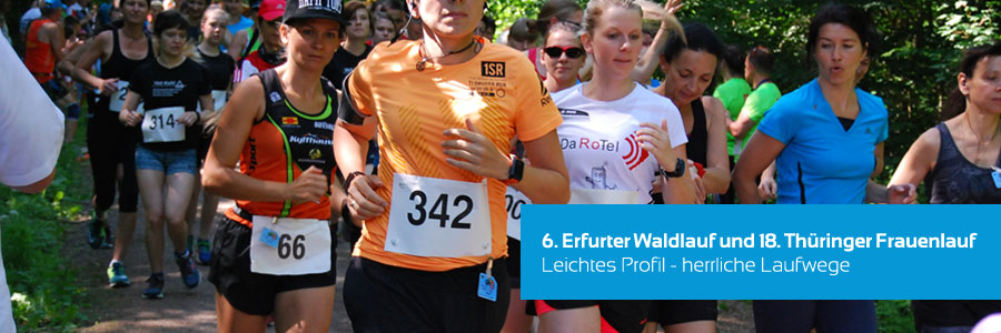 6. Erfurter Waldlauf und 18. Thüringer Frauenlauf