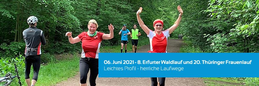 8. Erfurter Waldlauf und 20. Thüringer Frauenlauf