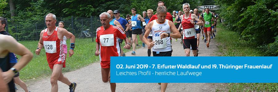 7. Erfurter Waldlauf und 19. Thüringer Frauenlauf